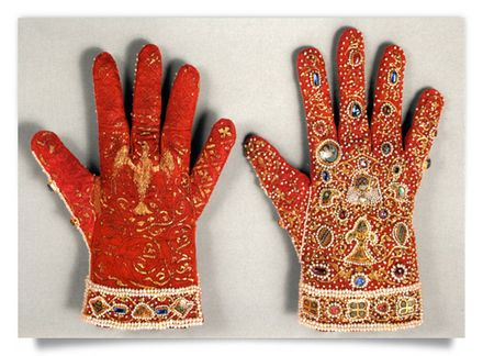 Gloves of the Coronation Robes of the Holy Roman Empire