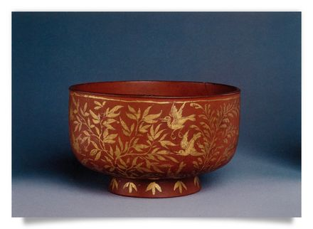 Bowl, varnish Japan