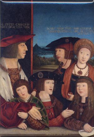 Family of Emperor Maximilian I