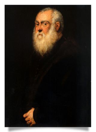 Man with a white beard