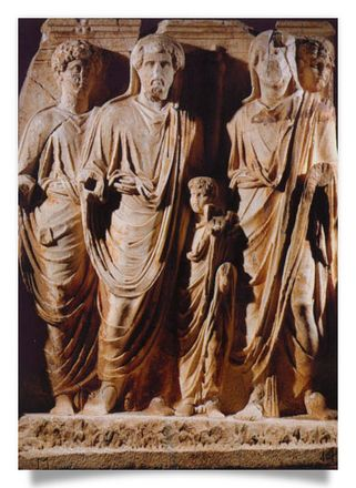 Adoption of the Emperors Lucius Verus and Marcus Aurelius (Monument of the Parth