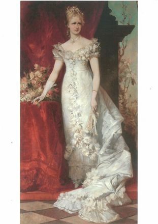Crown Princess Stephanie of Austria-Hungary (detail)