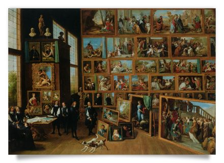 Archduke Leopold Wilhelm in his Gallery at Brussels