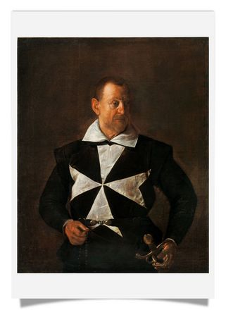 Portrait of Fra Antonio Martelli, Knight of Malta