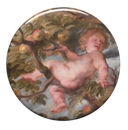 Putto in the Apple tree