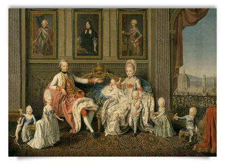 Family of Emperor Leopold II