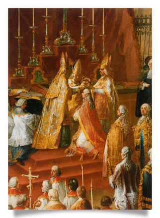 Coronation of Joseph II. as Roman King on 3.4.1764