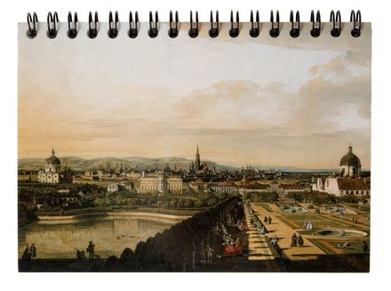 Bellotto - Vienna viewed from Belvedere Palace