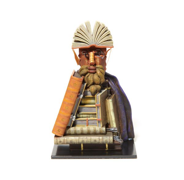 Arcimboldo - The Librarian - bookend