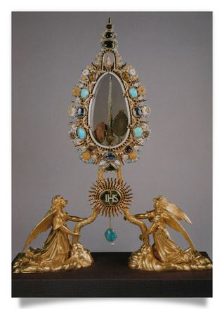 Reliquary with a Nail from the Holy Cross
