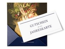 Jahreskarte (Annual Ticket): Gift Voucher Postal shipping