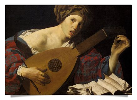 Lute-Player