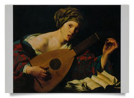 Female Lute-Player