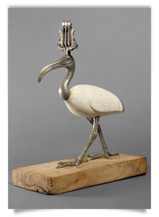 Statuette of Thoth as an Ibis