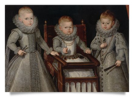 Infants Ferdinand, Alfonso and Margaret