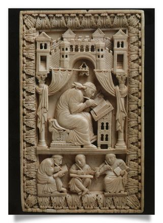 St Gregory with Scribes