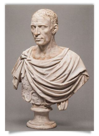 Portrait Head of C. Julius Caesar