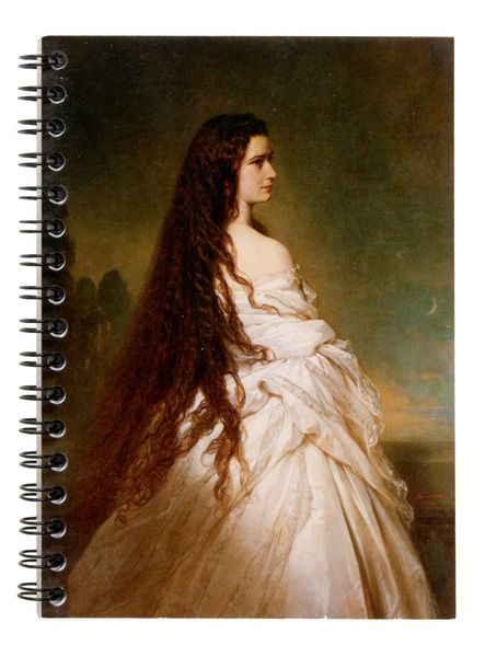 Winterhalter - Elisabeth (with open hair)