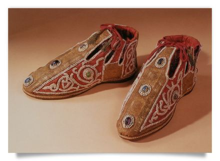 Shoes of the Coronation Robes of the Holy Roman Empire