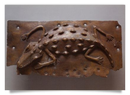Relief Plaque Crocodile