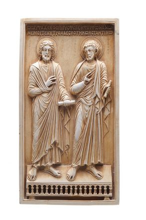 Relief with St. Peter & St. Andrew