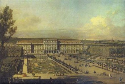 Schönbrunn Palace, Seen from the Garden