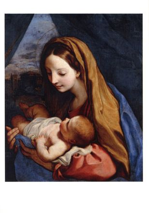 The Virgin with a child