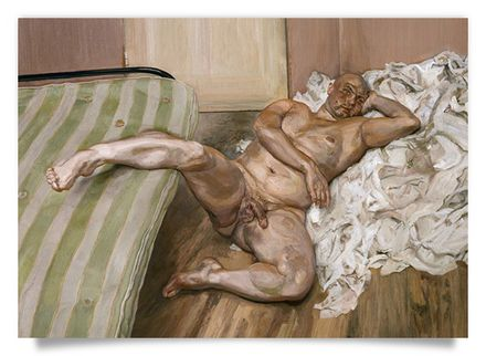 Freud - Nude with Leg Up (Leigh Bowery)