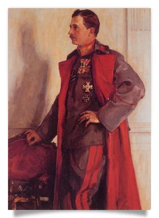 Emperor Charles I as Field-Marshal
