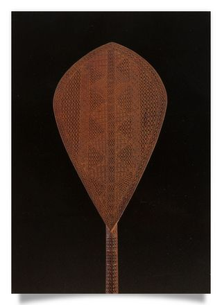 Ceremonial paddle