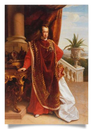 Emperor Ferdinand I in Robes of the Order of the Golden Fleece