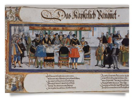 Inauguration of Emperor Rudolf II in the Order of the Golden Fleece