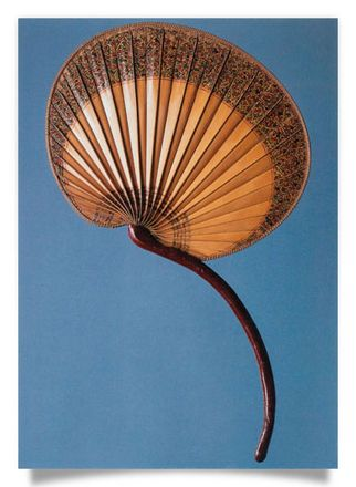 Fan, palm leaf