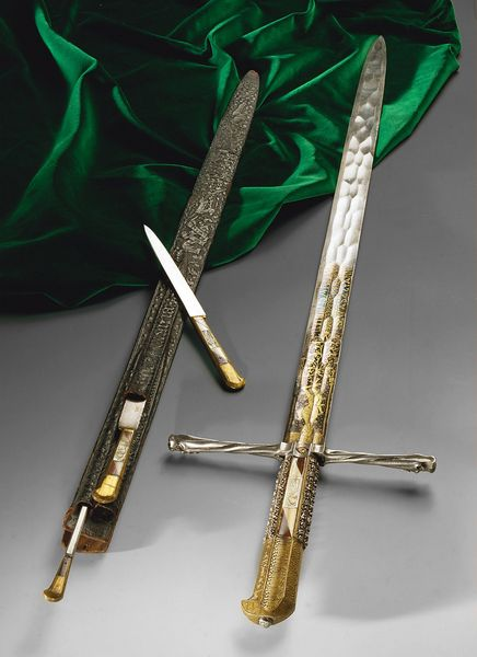 Hunting Sword and three knives of Emperor Maximilian I