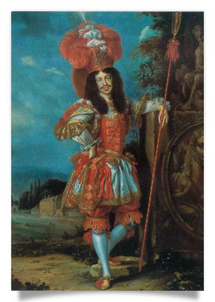 Leopold I in a theatre costume
