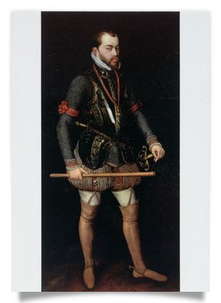 King Philipp II of Spain