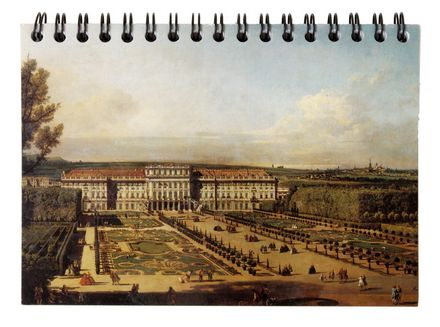Bellotto - Schönbrunn Palace, Seen from the Garden