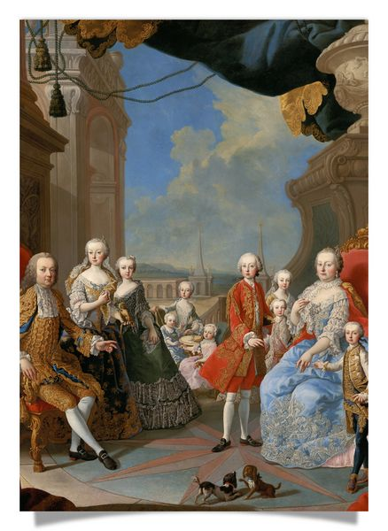 Empress Maria Theresia with Family