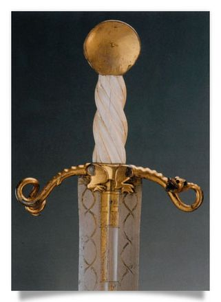 Ceremonial sword of the Dragon Society