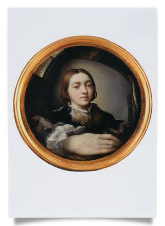 Self-Portrait in a Convex Mirror