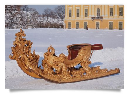 Racing-Sleigh of Queen Mary Therese