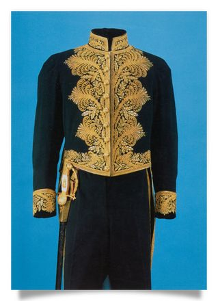 Full court uniform of Baron Kast
