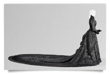 Black Court Dress worn by the Empress Elisabeth