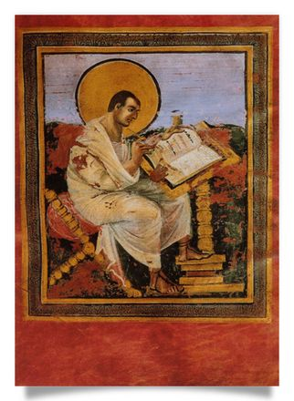 Coronation Evangeliar: Matthew the Evangelist