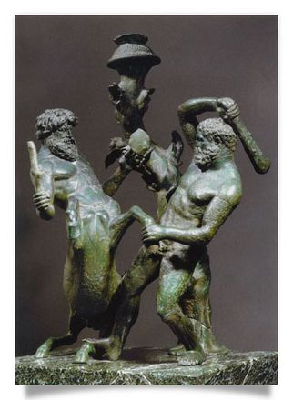 Herakles and Centaur