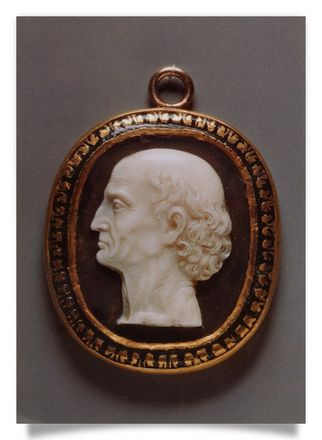 Cameo Head of an old man