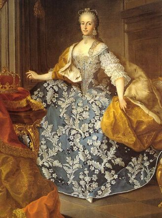Portrait of Archduchess Isabella, Princess of Parma