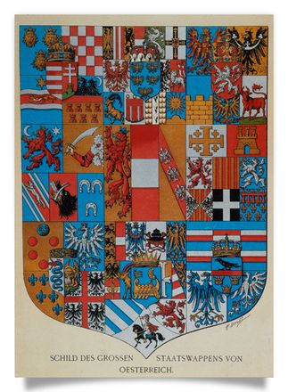 "The ""Grand State Arms of Austria"" 1866"