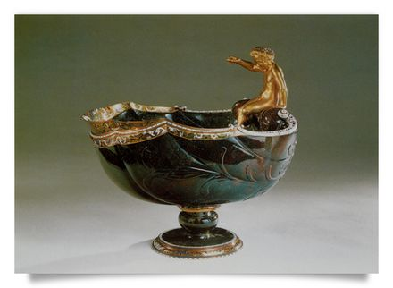 Cup with Bacchus child