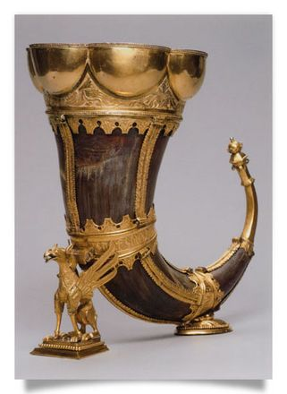 "Drinking Horn ""Griffin's Claw"""